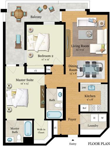 Element 436 Floor Plans - Residence G